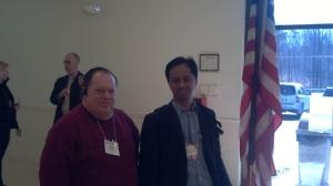 Berkunjung ke TPS di Virginia. Primary election Partai Republik.