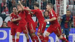 Bayern Muenchen menghajar Barca di leg pertama semifinal. Bekal juara?