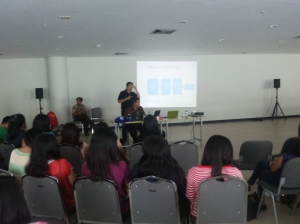 Kuliah tamu bersama Revolusi Riza dari Trans7. Berbagi pengalaman nyata.