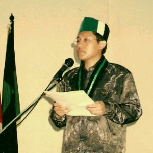 Anas Urbaningrum, Ketua Umum HMI 1997-1999. Solidaritas tergalang.