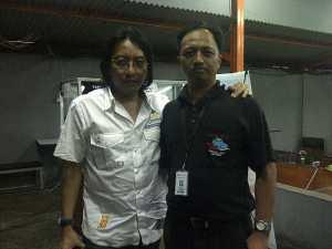 Adi Adrian, pendiri dan pilar KLa Project. Anggap Jokowi jawaban reformasi.