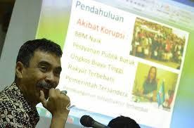 Ahmad Taufik dan gagasannya melawan koruptor. KPK tak bisa sendirian.