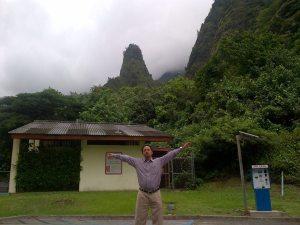 Iao Valley State Park. Salah satu tujuan wisata di Maui.