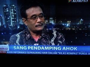 Djarot Saiful Hidayat. Segera dilantik dampingi Ahok.