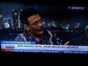 Djarot: Tata Ruang Kota, Akar Masalah Jakarta.