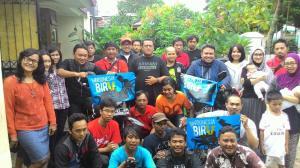 Melepas ekspedisi Indonesia Biru. Segala doa sehat dan sukses untuk Dandhy-Ucok.
