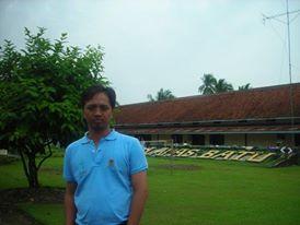 Di Lapas Batu, Nusakambangan. Tempat Tommy dan Bob Hasan pernah tinggal.