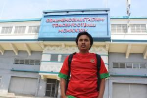 Fim di Stadion Rizal Memorial, Manila. Saksi kali terakhir Indonesia berjaya di Sea Games.