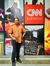 Berlabuh di CNN Indonesia. Mensyukuri inchi demi inchi kehidupan.