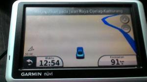 GPS menyerah. Belum ada penanda Tol Cipali.