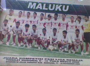 Maluku Juara Piala Medco U-15 2006. Kenangan manis.