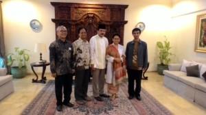 Silaturahmi bersama Menlu Retno. Perempuan pertama memimpin Pejambon.