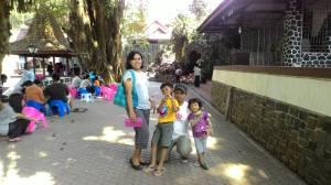 Perjalanan berliku mencapai Sendangsono. Lokasi baptis pertama.
