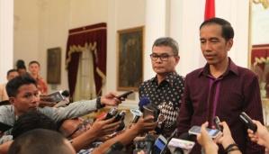 Johan Budi dan Jokowi. Dua media darling.