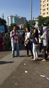 Menjadi narasumber dadakan Sapa Indonesia Kompas TV. Diwawancarai anchor legendaris.